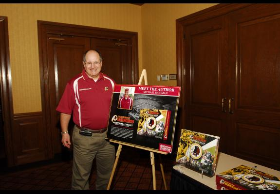 Oct. 3, 2011: Annual golf tournament hosted by Redskins great Brig Owens