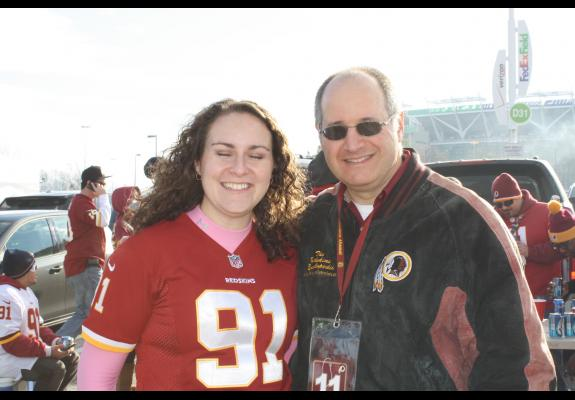 Jan. 6, 2013: Redskins-Seahawks (FedExField Tailgates)