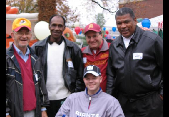 "Nov. 14, 2008: ""All American Picnic and Thank You,"" Walter Reed Army Medical Center, Washington, DC"