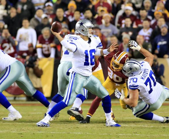 REDSKINS LOSE MOMENTUM IN NFC EAST IN WILD LOSS TO DALLAS