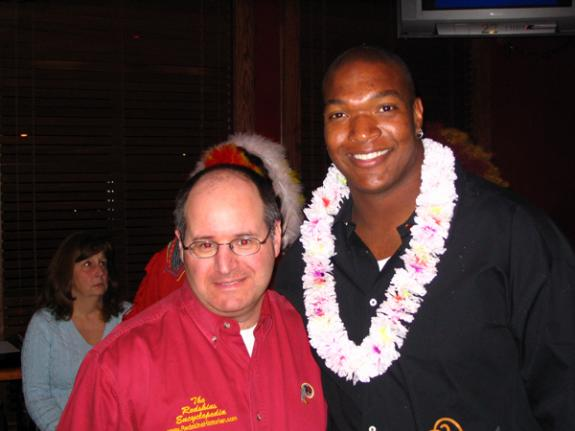Jan. 24, 2008: Chris Samuels & Sean Taylor Pro Bowl Party, Bailey's Pub & Grille, Germantown, MD