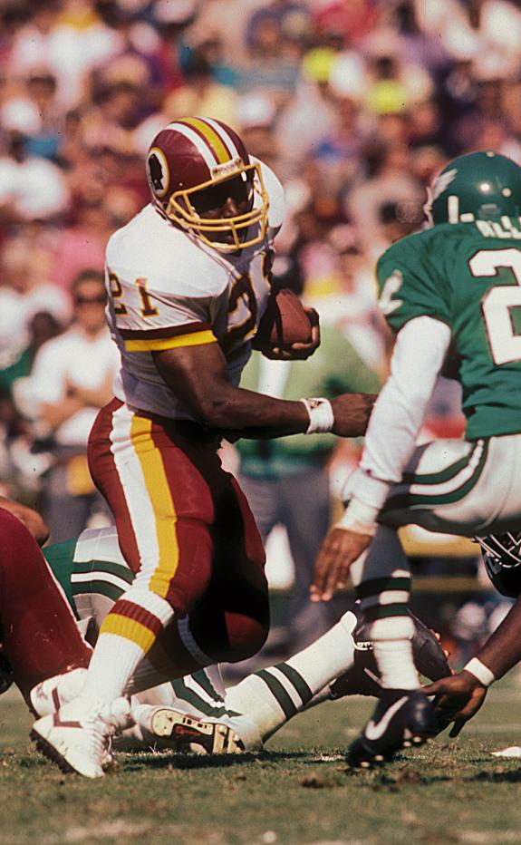 Redskins Legacy: Byner Stars After Browns Stint