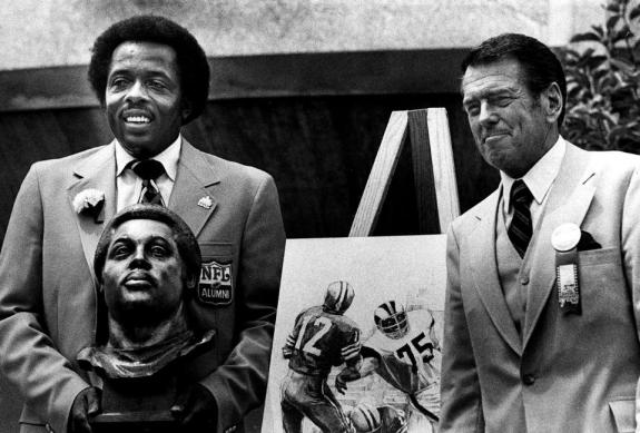 Ferocious Hall of Fame Defensive End Deacon Jones