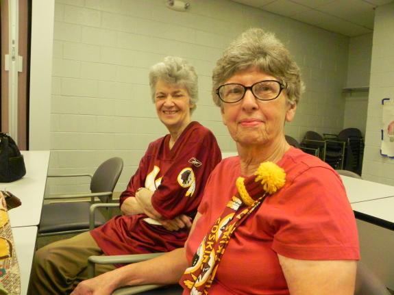 Aug. 13, 2014: Rockville Senior Center (Redskins history presentation)