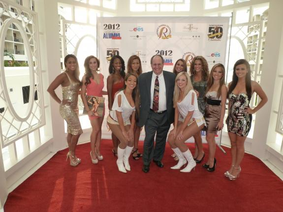 July 28, 2012: Redskins Cheerleaders 50th anniversary
