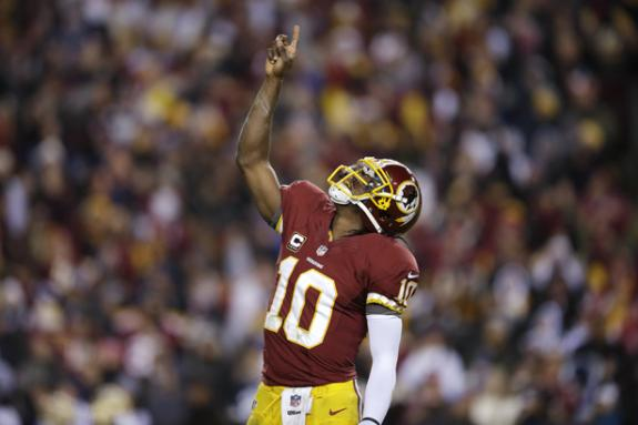 Redskins Legacy: RG3 Sparks Win Over Bucs