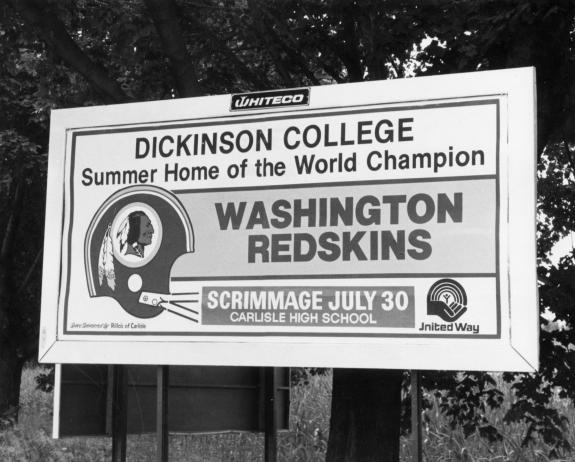 July 26, 1963: Dickinson College New Site of Redskins Training Camp