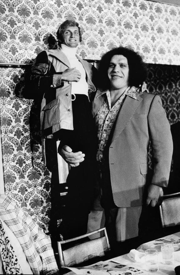 July 8, 1975: Redskins Flirt w/ Signing Giant Wrestler