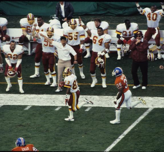 Jan. 31, 1988: Redskins Destroy Denver in SB XXII
