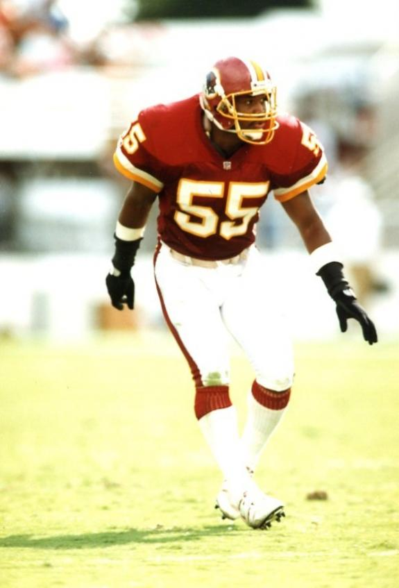 Ex-Redskins linebacker & Super Bowl XXVI star Andre Collins