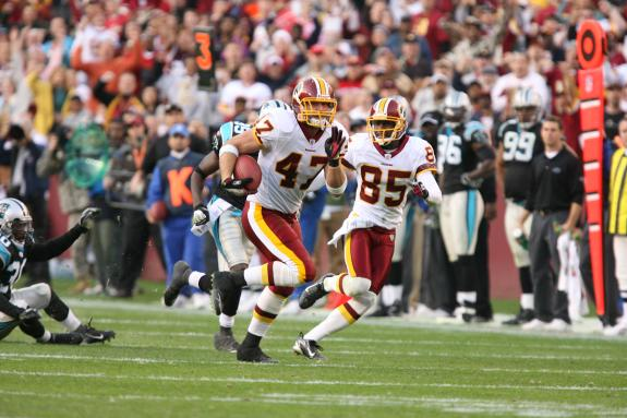 Prolific Redskins TE and media personality Chris Cooley