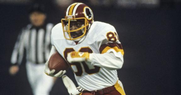 Former Redskins receiver Virgil Seay, a