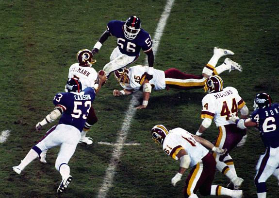 Nov. 18, 1985: Theismann's Career Ends With a Break